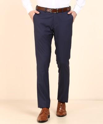 U.S. Polo Assn Regular Fit Men Blue Trousers
