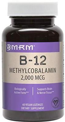 MRM B-12 Methylcobalamin 2000 mcg 60 Sublingual Lozenges(60 No)