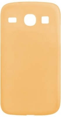 ACM Back Cover for Samsung Core I8262(Orange, Cases with Holder, Silicon)