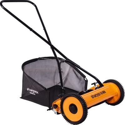 Sharpex Classic Push Manual Lawn Mower with Grass Catcher (Multicolour)...