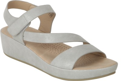 Mode By Red Tape Women GREY Wedges