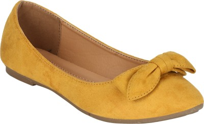 Mode By Red Tape Bellies For Women(Yellow)