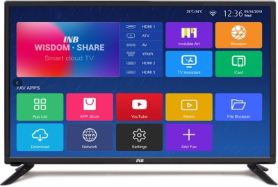 INB 80cm (32 inch) HD Ready LED Smart TV(INBA-32-JMJ)   TV  (INB)