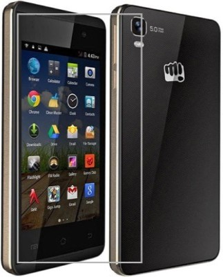 AmericHome Tempered Glass Guard for Micromax Canvas Juice 2 AQ5001(Pack of 1)