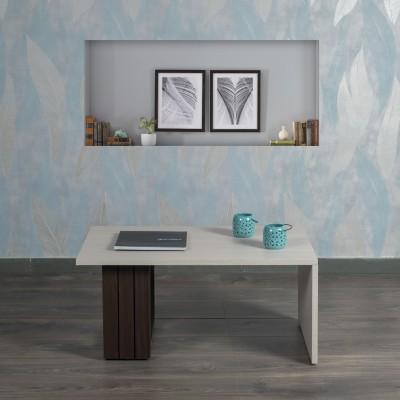 Akshni Talon Engineered Wood Coffee Table(Finish Color - Oak & Walnut)