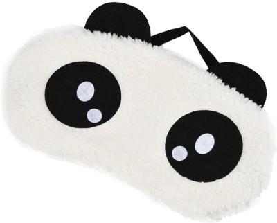 Jholmaal Panda Sleeping Mask Panda Eye Mask Sleeping Blindfold Nap Cover (Bubbly Eyes Panda) Sleeping Mask(100 g)