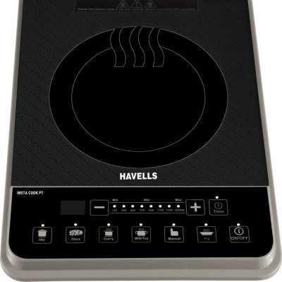 Havells INSTA COOK PT Induction Cooktop(Gold, Touch Panel)