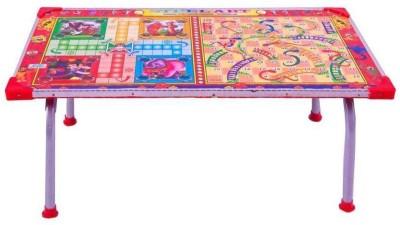 FOBHIYA Multipurpose Folding Wood Portable Laptop Table(Finish Color - Multi)
