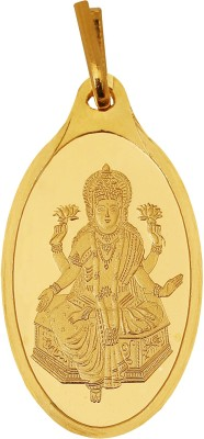 Kundan Lakshmi 24k 999.9  Yellow 2.7 gm 24kt Yellow Gold Pendant