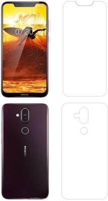 JBJ Edge To Edge Tempered Glass for NOKIA 8.1(Pack of 1)