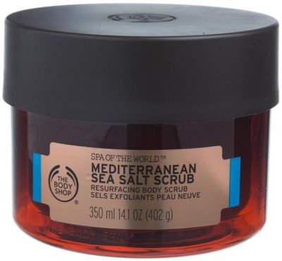 The Body Shop Mediterranean Sea Salt  Scrub(350 ml) 1