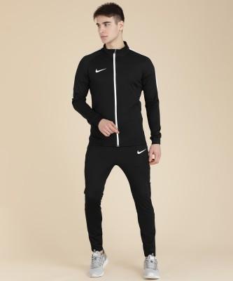 Nike Solid Men's Track Suit