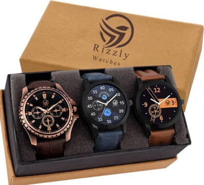 Embassy 3 Watches Analog Watch  - For Men