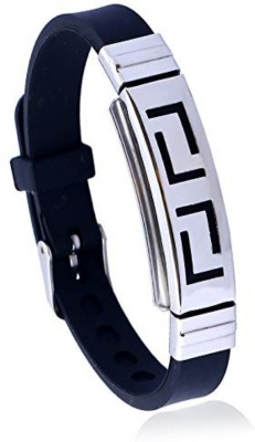 University Trendz Leather, Stainless Steel Bracelet