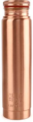 Cello H2O Cop-Pura Copper Water Bottle,1.1 LTR 1100 ml Bottle  (Pack of 1, Brown, Copper)