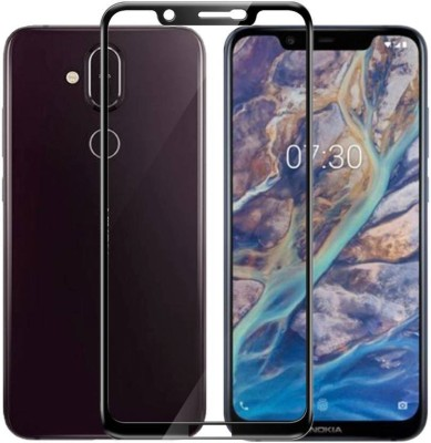 iKare Front and Back Screen Guard for Nokia 8.1(Pack of 1)