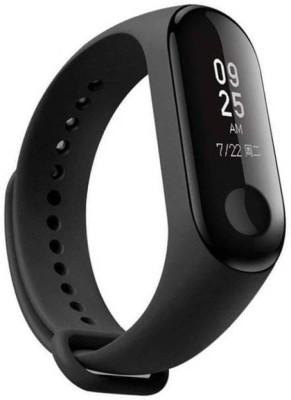 Mezire M3 -45 Fitness Smart Band(Black Strap, Size : Free Size)