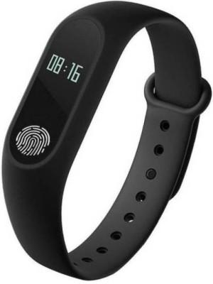 Mezire M2SR41 Fitness Smart Band(Black Strap, Size : Free Size)