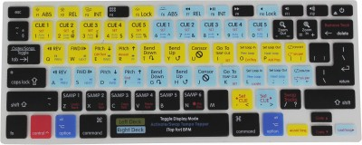 Saco Serato DJ Functional Hot key Shortcut Rubber Keyboard Skin Cover For Macbook Pro Air Retina 13 15 17 and Wireless Bluetooth Keyboard MC184LL B Se