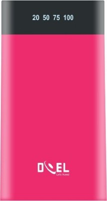 Doel 15000 Power Bank (CLEO150,  with Digital Display)(Pink, Lithium Polymer)