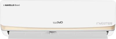 Lloyd 1.5 Ton 3 Star Split Inverter AC  - White(LS18I36FI, Copper Condenser)