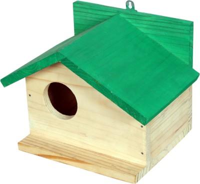 PAXIDAYA SIDE WINDOW WOODEN BIRDHOUSE Bird House(Hanging, Wall Mounting, Tree Mounting, Free Standing)