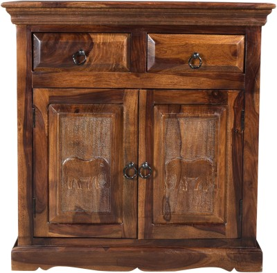 Espice Solid Wood Free Standing Sideboard(Finish Color - Provincial Teak)