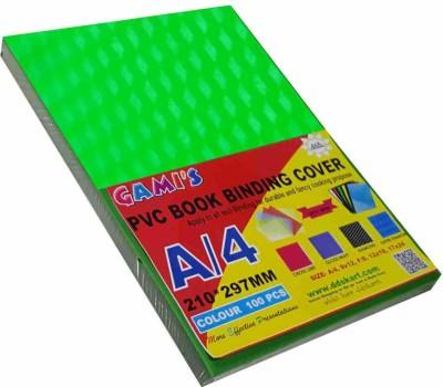 DDS PVC SHEET SUPER DIAMOND A4 Multipurpose Paper Set of 1, GREEN TRANSPARENT OPECK, GREEN OPECK