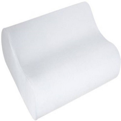 QUALIMATE Memory Foam Memory foam Orthopaedic Pillow Pack of 1(White)