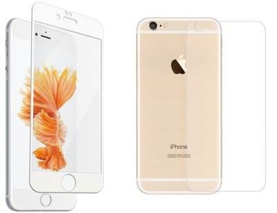 Uoiea Front and Back Tempered Glass for Apple iPhone 6s Plus(Pack of 1)