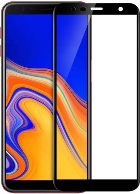 Micvir Edge To Edge Tempered Glass for Galaxy J4 Plus(Pack of 1)