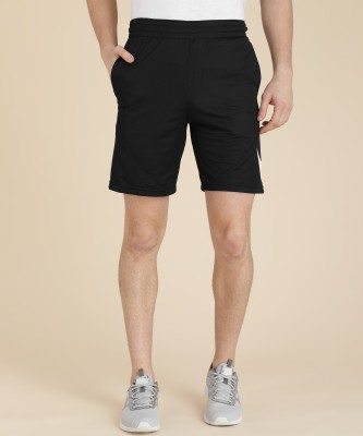 Nike Self Design Men's Black Sports Shorts