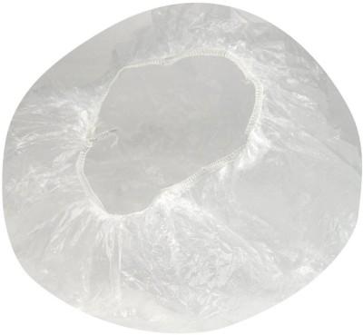 Zahuu Disposable PE Shower Cap 50 Pcs
