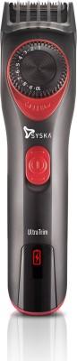 Syska HT700 Runtime: 45 min Trimmer for Men(Black, Red)