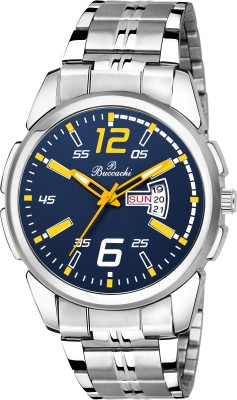 Buccachi B-G5051-BL-CH BLUE DIAL DAY & DATE FUNCTIONING FOR BOY,S Analog Watch  - For Men