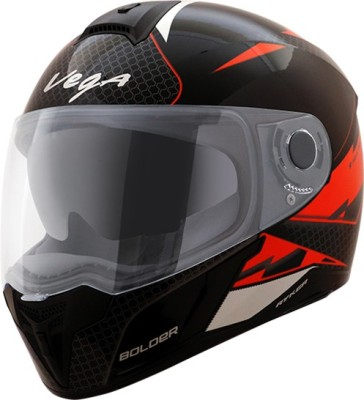 VEGA Ryker D/V Bolder Motorbike Helmet(Black Orange)
