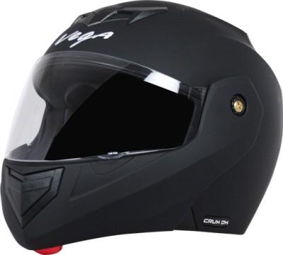 VEGA Crux DX Motorbike Helmet(Dull Black)