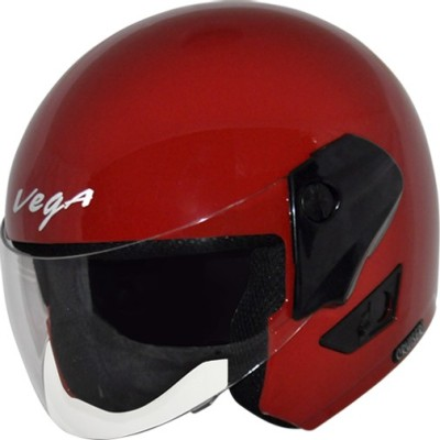 VEGA Cruiser Motorbike Helmet(Red)