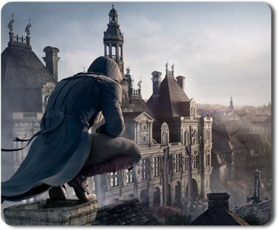 Eagletail India Assassin's Creed #12 Mousepad(Multicolor)
