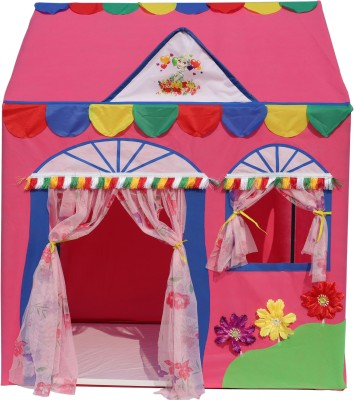 Homecute Hut Type Kids Toys Play Tent House(Pink)