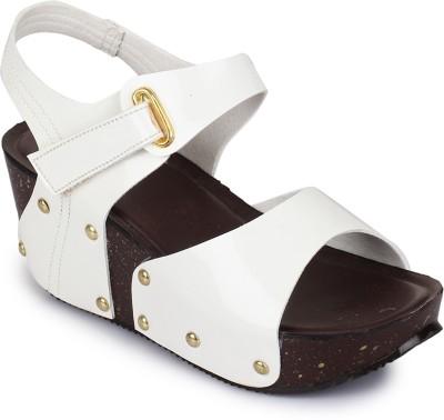 Sapatos Women White Wedges