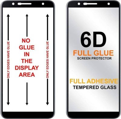 Ultra Clear Edge To Edge Tempered Glass for Samsung Galaxy S9 Plus (6D Tempered Glass)(Full Glue Glass)(Pack of 1)
