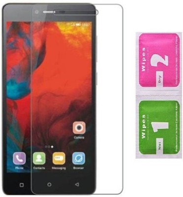 Desirtech Tempered Glass Guard for Gionee Pioneer P2s(Pack of 1)