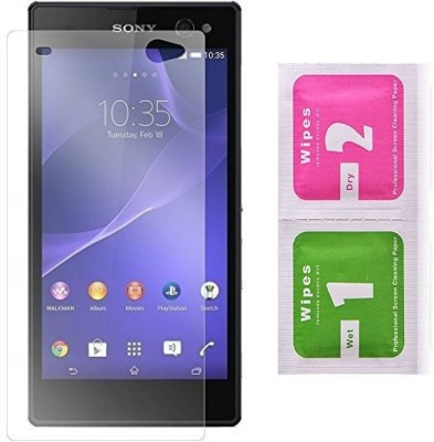 Desirtech Tempered Glass Guard for Sony Xperia ZR(Pack of 1)