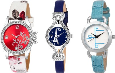 UNU Combo Of Three Limited~Edition Multicolour Dial UU~49 Women And Girls Watch  - For Women