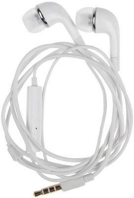 AWAKSHI EH64AWALLEGH553 Wired Headset with Mic(White, In the Ear) 1
