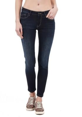 Pepe Jeans Slim Women Dark Blue Jeans