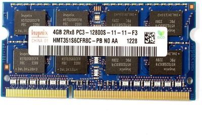 Hynix HYNIX DDR3 4 GB (Dual Channel) Laptop (DDR3 1600MHZ (HMT351S6CFR8C-PB)) at flipkart