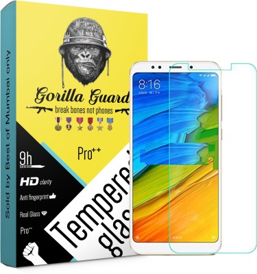 Gorilla Guard Tempered Glass Guard for Mi Redmi Note 5(Pack of 1)