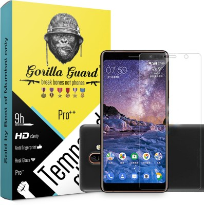 PEDAS Tempered Glass Guard for Nokia 7.1 Plus 6d Tempered Glass Premium Quality(Pack of 1)